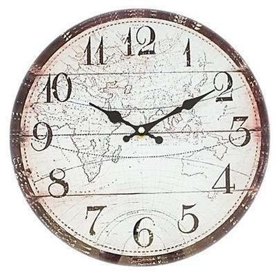Relógio de Parede Latcor LA3-B4546 com Maquinismo de Pequeno Volume Ilustrado