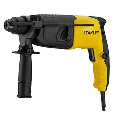 Martelete para Perfuração Stanley SDS Plus 620W Modo Rotação e Impacto Preto e Amarelo