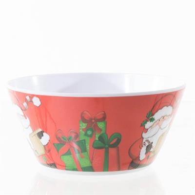 Tigela de Natal Santini Christmas 066-590001SD de Melanina