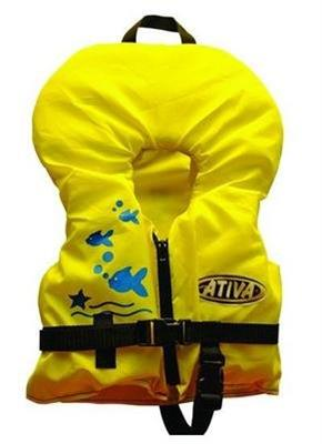 4d3705c50 Colete Salva-Vidas Ativa Baby Até 22kg Amarelo - Colete Salva-Vidas ...