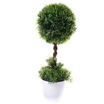 Planta Artificial Latcor BX-47424/Y20-01 Plástico Branco e Verde