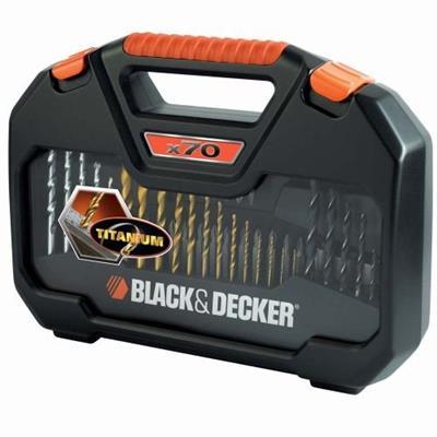 JOGO DE 70 FERRAMENTAS A7184-XJ BLACK & DECKER COM MALETA