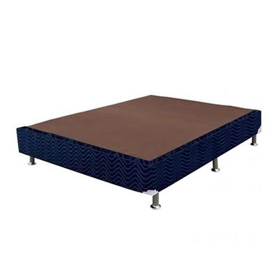 Base Para Cama Box Americana Ortobom 138x188x28 Azul