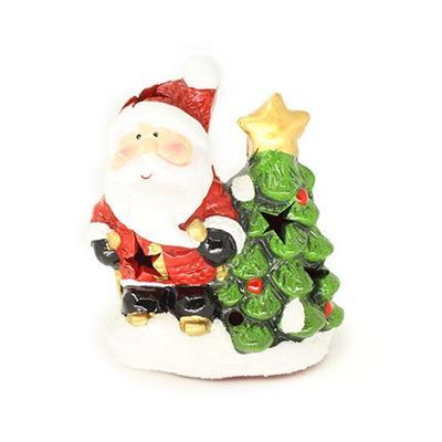 Adorno Natalino Papai Noel Árvore LED Santini 067-230207