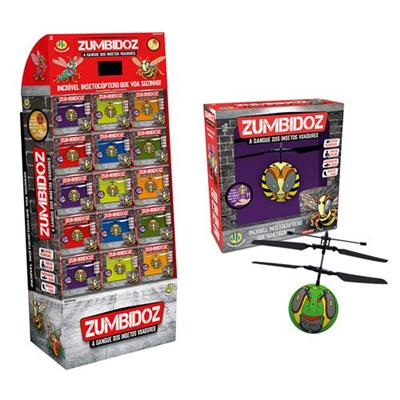 Brinquedo Insetocóptero Zumbidoz DTC 3891 Sortido