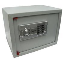 Cofre Eletrônico Secursafe Aço 25x37x29cm 8kg Senha programada pelo usuário Cinza