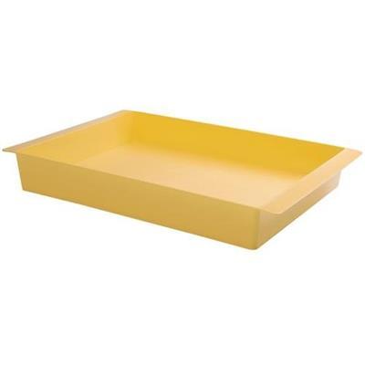 Bandeja Coza Cake Grande 10120/0463 Plástico Amarelo