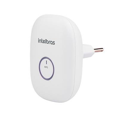 Repetidor portátil Wireless Intelbras IWE 3000N 300 Mbps Branco