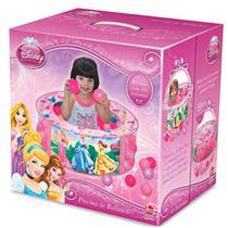 Piscina de Bolinhas Disney Princesas Líder 2090 Plástico Rosa