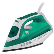 Ferro de Passar Seco e Vapor Black & Decker AJ3030 1.200w 110V Verde e Branco