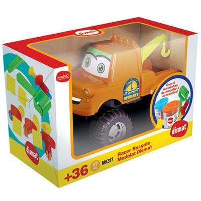 Carro Dismat Racer Resgate Modelat MK317 Caminhão Plástico Colorido