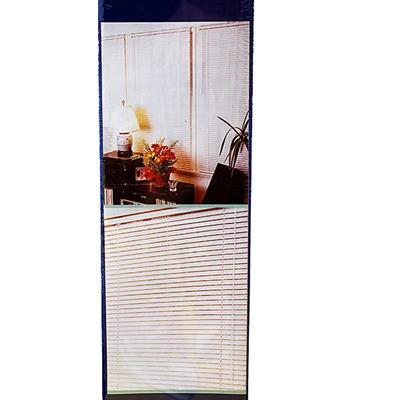 Persiana Becky 140x160 cm Plástico Espessura 25 mm Marfim