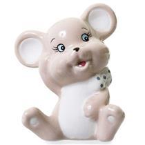 Adorno Rato Latcor LRP16B102 Porcelana