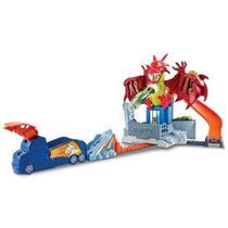 Brinquedo Pista Hot Wheels Conjunto Fúria do Dragão Mattel DWL04