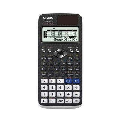Calculadora Científica Casio FX-991LAX-BK-S4-DH QR-Code