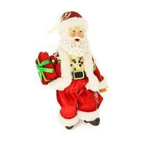 Papai Noel Decoração de Natal Santini Christmas 048-454141 Vermelho