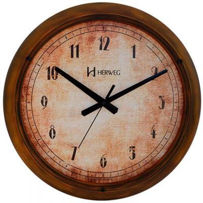 Relógio de Parede Herweg 6654/272 Ferrugem