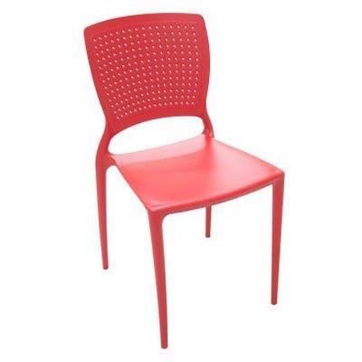 Cadeira Safira Tramontina 92048/040 Vermelho