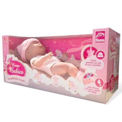 Boneca Bebê Recém-nascido Roma Jensen 5074