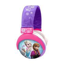 Fone de Ouvido Disney Frozen Multilaser PH127 Rosa e Lilás