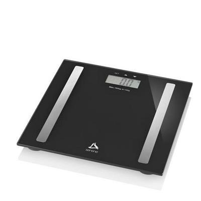 Balança Digital Digi-Health Pro Serene Multilaser HC030 IMC Taxa de Gordura Taxa de Líquido Preto