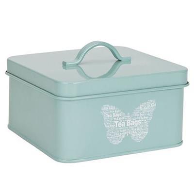 Pote para Chá Ricaelle POTR-014 1,2 Litro Metal Esmaltado Azul