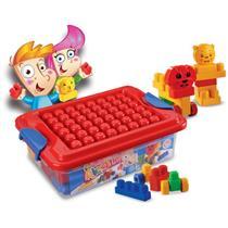 Brinquedo Caixa da Alegria Dismat MK161 Plástico Colorido