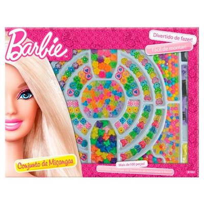 Brinquedo Barbie Caixa de Miçangas Fun 69913