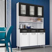 Armário de Cozinha 6 Portas 3 Gavetas Te