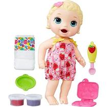 Boneca Baby Alive Lanchinho Hasbro C2697 Loira