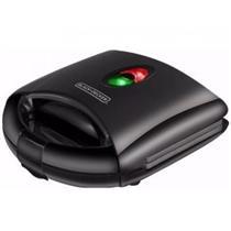 Sanduicheira Grill Black&Decker SG700 127V 700w Preto