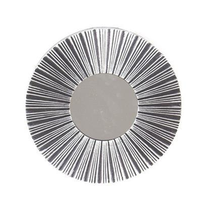 Conjunto 3 Espelhos Latcor KD720242 25,4cm Prata