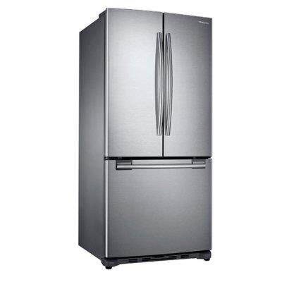 Geladeira 441 Litros French Door Compact Frost Free Samsung RF62HERS1/AZ 110V Inox