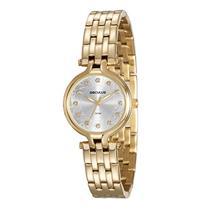 Relógio Feminino Seculus 23585LPSVDS1 Analógico Pulseira de Aço Dourado