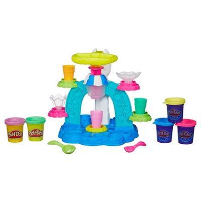 Brinquedo Sorveteria Divertida Play-Doh B0306 Massinha e Plástico