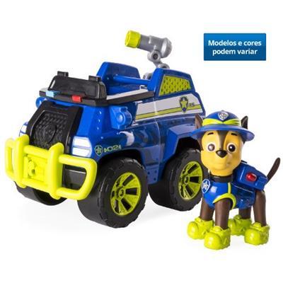Brinquedo Patrulha Canina Veículo e Boneco Sunny 1351 Cores e Modelos Variados