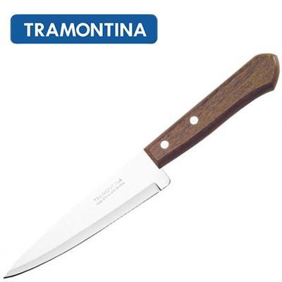 Faca Peixeira Tramontina 22902/107 Inox e Madeira