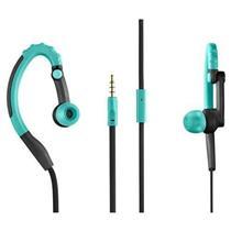 Fone de Ouvido Multilaser Earhook Pulse Sport PH204 32ohm Preto e Azul