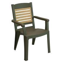 Cadeira de Plástico Grosfillex Winston V 49022037 Bronze