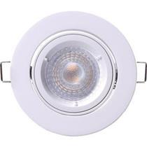 Projetor de LED Focolum Slim Plafo Redondo 3.3W 260 Lm Osram