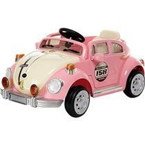 Brinquedo Carro Elétrico Fusca Belfix 914300 Rosa