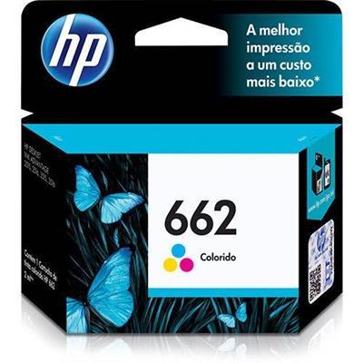 Cartucho de Tinta para Impressora HP 662 CZ104AB Colorido