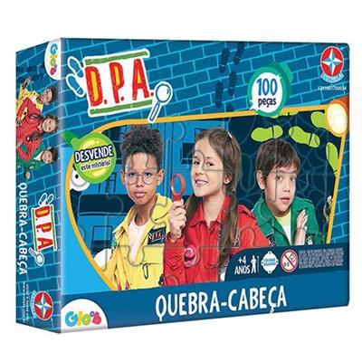 Brinquedo Quebra-Cabeça Estrela DPA 1201601700046 100 Peças