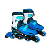 Patins Transformers In-Line Astro Toys 9017/8345 Tamanho M 35 a 38