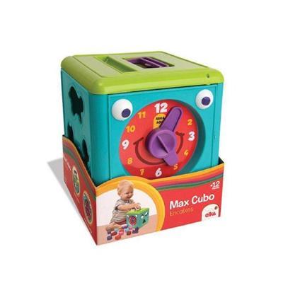 Brinquedo Max Cubo Encaixes Elka 977