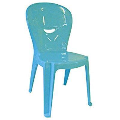 Cadeira Tramontina Vice 92270/070 Plástico Suporta até 30 Kg Azul