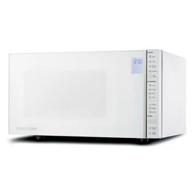 Micro-ondas 32 Litros Brastemp BMS45CBANA Classe B 110V 900W Branco