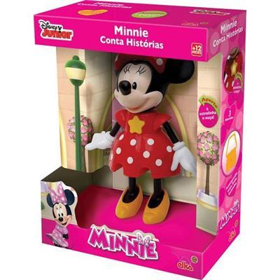 Boneca Minnie Conta Histórias Elka 856 Plástico PVC 25cm