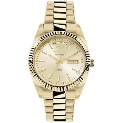 Relógio Feminino Technos 8205OA4X Analógico Pulseira de Aço Dourado