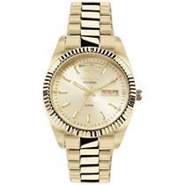 Relógio Feminino Technos 8205OA4X Analógico Pulseira de Aço Dourado bc8fbb83fd